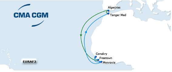 EURAF 3航线